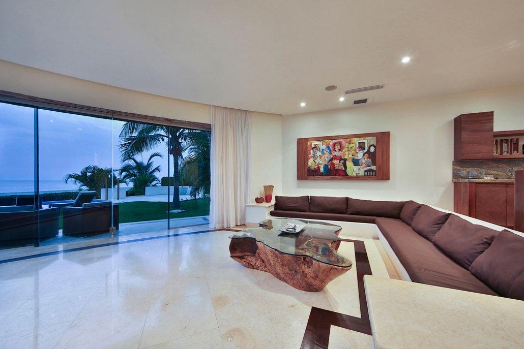 Villa San Pancho 4 - Luxury beachfront vacation villa - real estate for sale in San Francisco, Nayarit, Mexico
