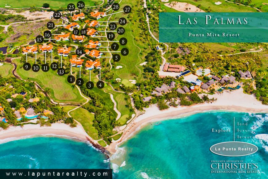 villas las palmas 7 - punta mita real estate - vallarta | nayarit