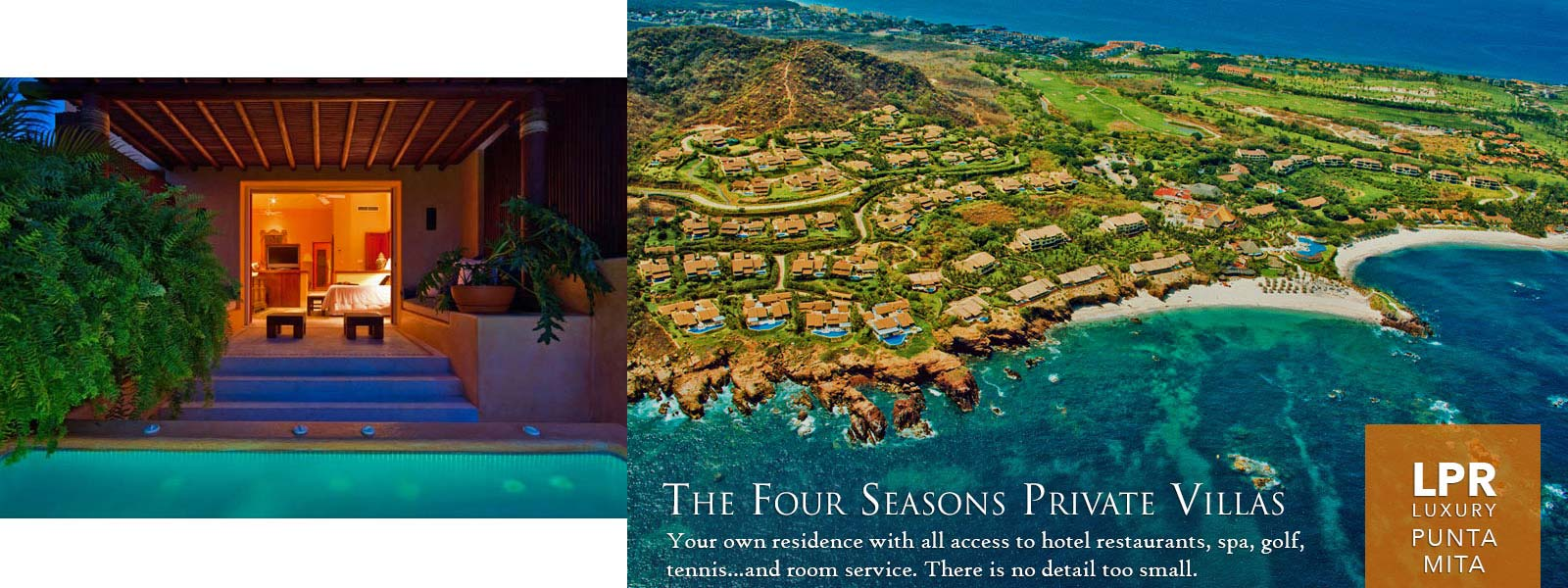 Four Seasons Private Villas - Punta Mita Mexico luxury real estate and vacation rental homes for sale and rent