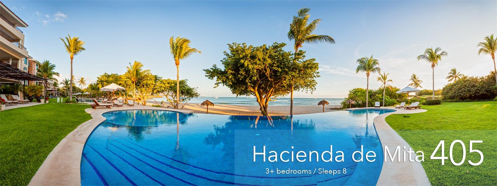 Hacienda de Mita 405 - Luxury Punta Mita Resort Condos, Mexico
