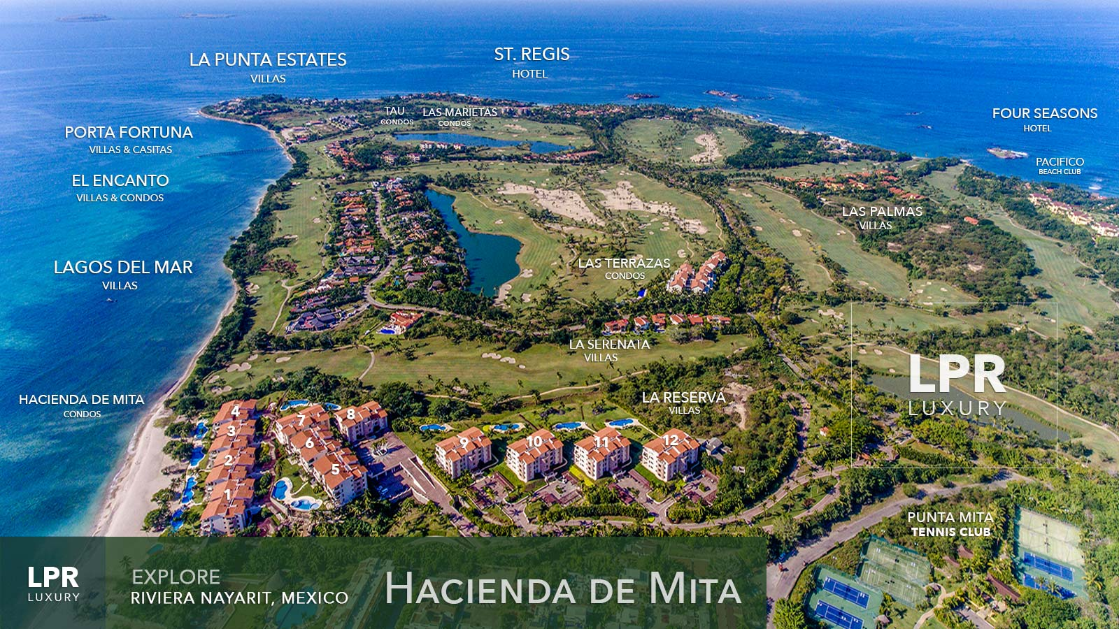 Hacienda de Mita - Luxury Beachfront Punta Mita Resort Condominiums - Four Seasons / St. Regis Punta Mita Resort