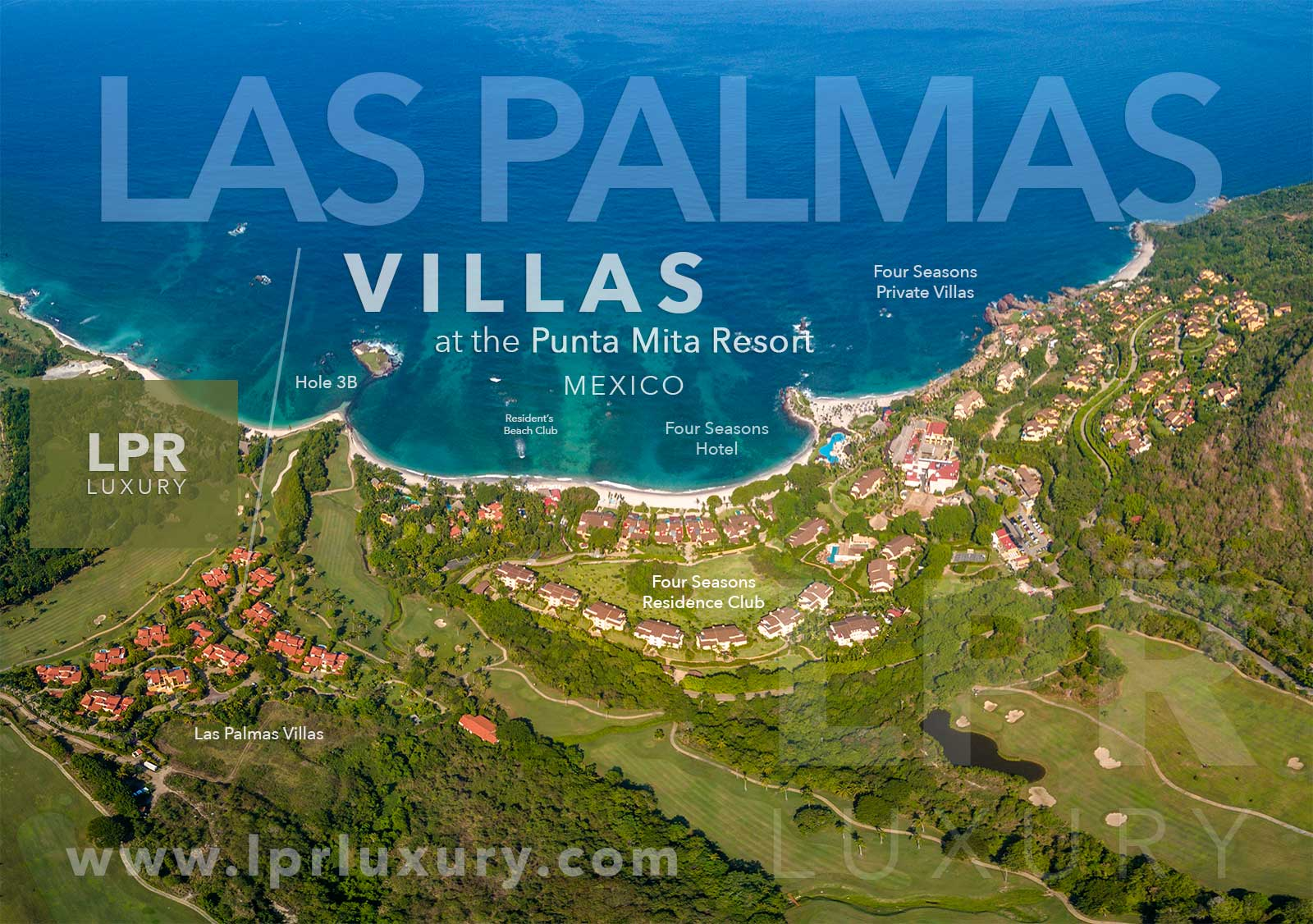 Las Palmas Villas at the Punta Mita Resort, Riviera Nayarit, Mexico