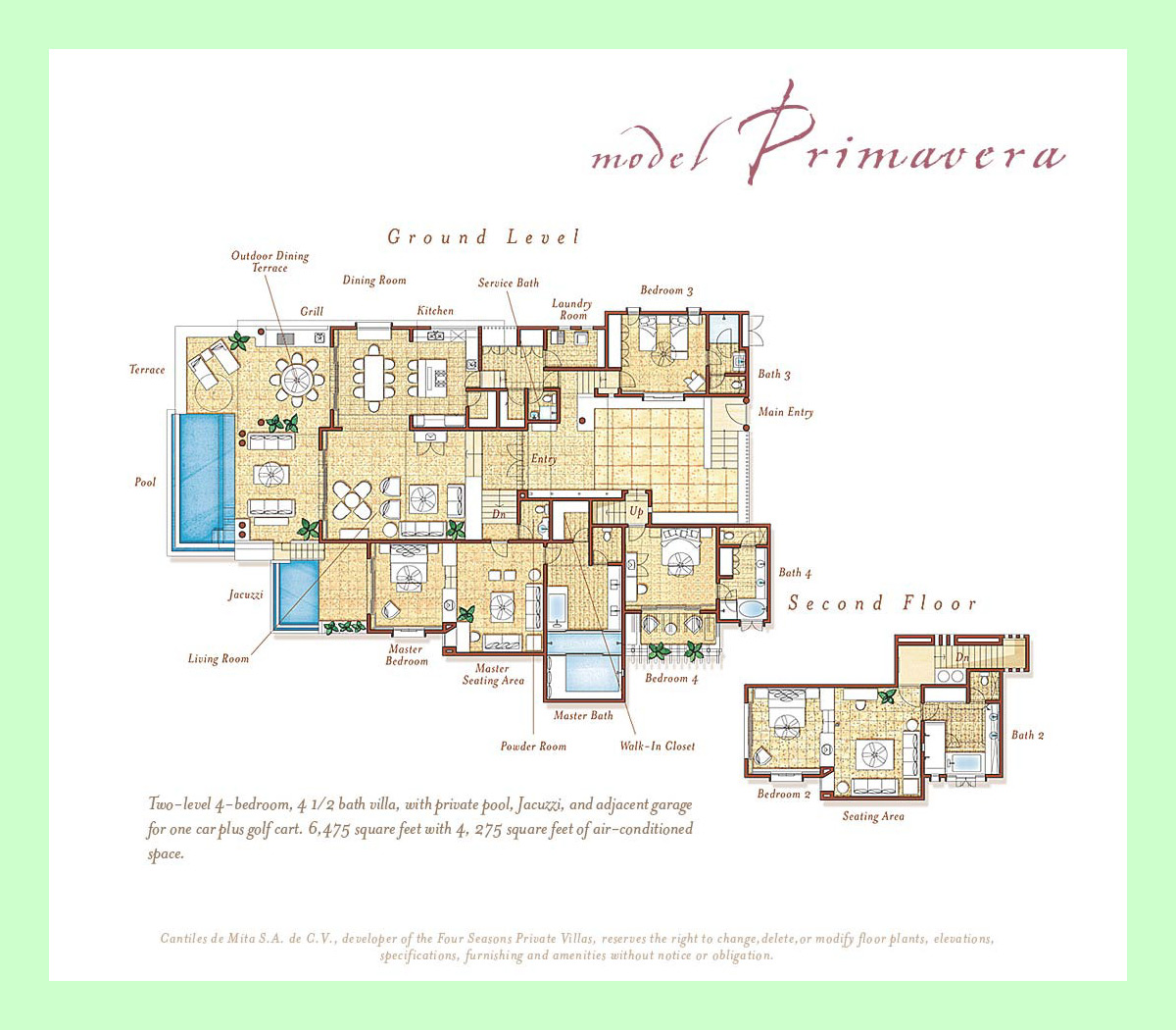 Primavera - Four Seasons Private Villas - Punta Mita Mexico