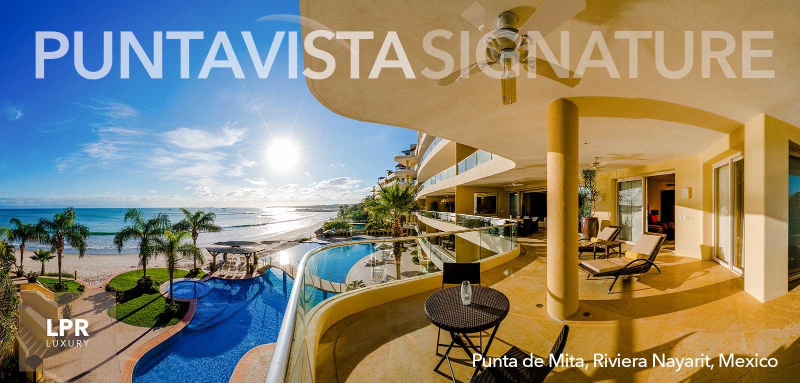 PVSR - Punta Vista Signature Residences luxury beachfront condos - Punta de Mita, Riviera Nayarit, Mexico