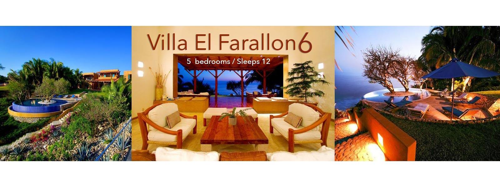 Villa El Farallon 6 - Luxury Punta de Mita Vacation Villa - North Shore Puerto Vallarta, Mexico