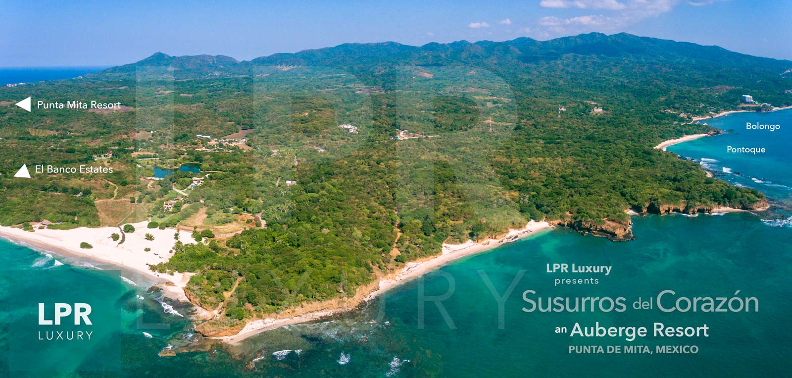 Auberge Punta de Mita - Susurros del Corazon - Luxury oceanfront real estate and vacation rentals.