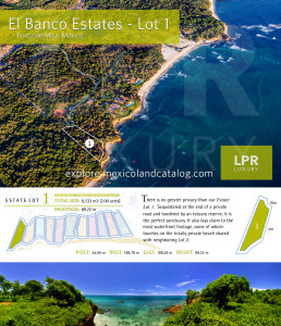 El Banco Estates - Lot 1 - Punta de Mita Real Estate - Mexico
