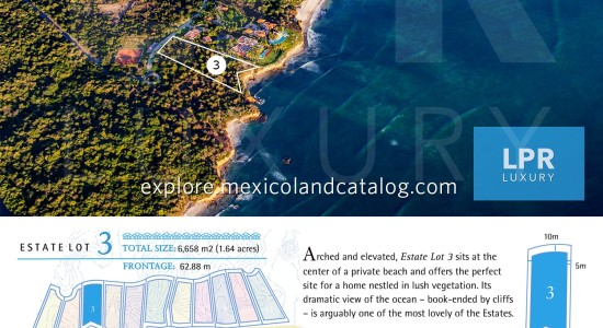 El Banco Estates - Lot 3 - Punta de Mita Real Estate - Mexico