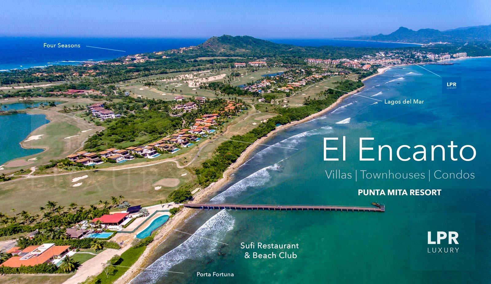 El Encanto Luxury Real Estate At The Punta Mita Resort Riviera Nayarit Mexico