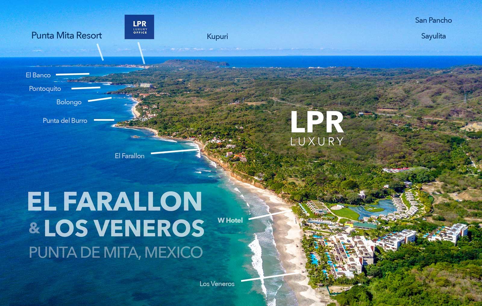 El Farallon / Los Veneros / W Hotel - Punta de Mita, Riviera Nayarit, Mexico