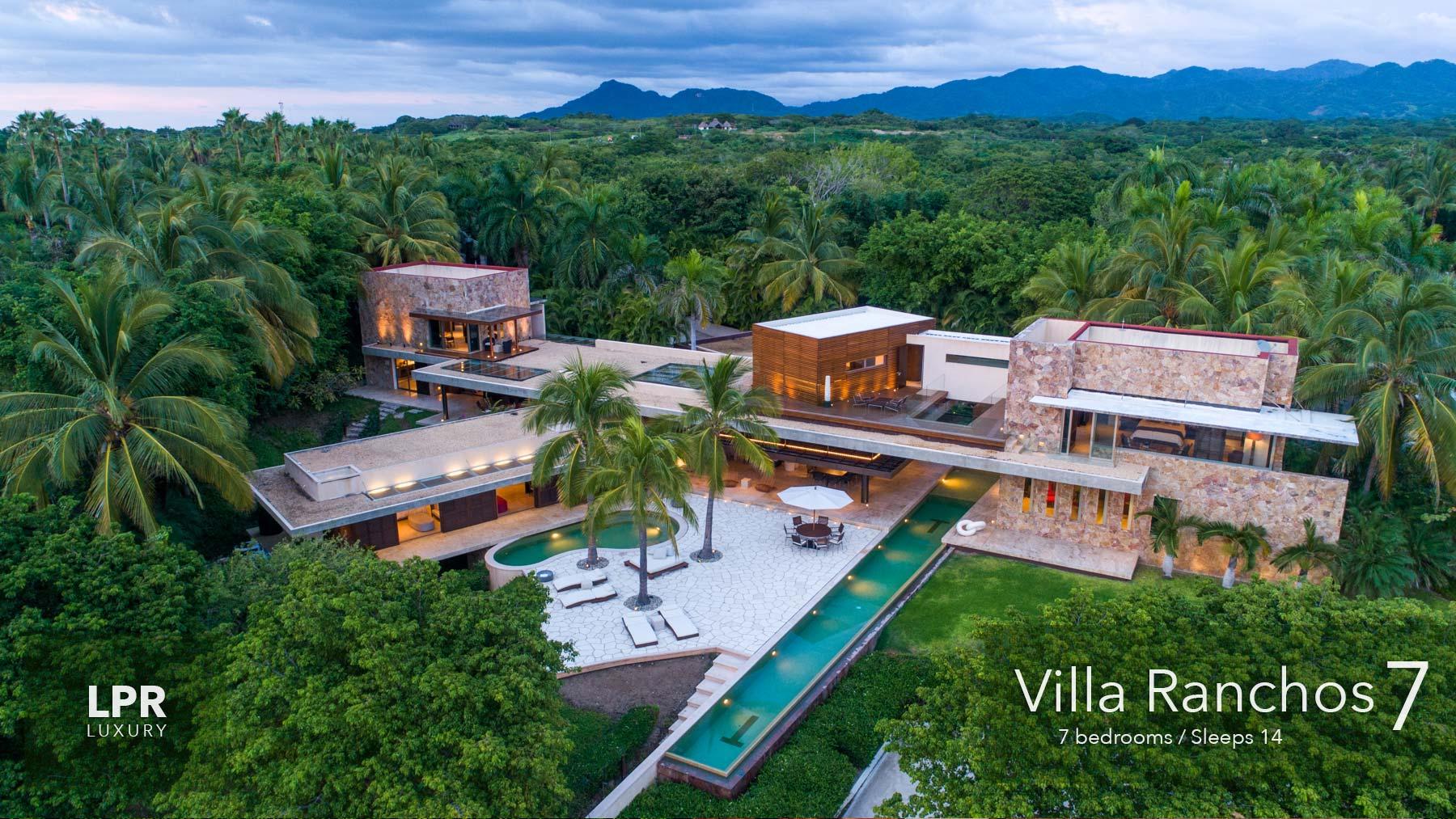 Villa Ranchos 7 - Punta Mita Resort - Mexico Luxury Vacation Rentals and Resort Real Estate