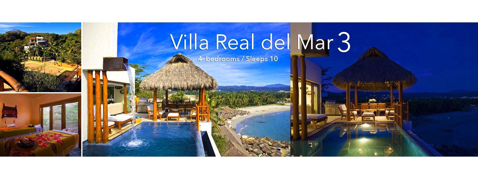 Villa Real del Mar 3 - Luxury Punta de Mita Vacation Rental Villa for Sale