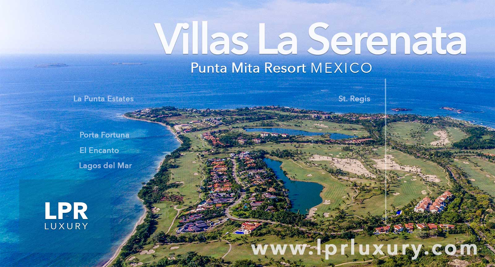 Villas La Serenata at the exclusive Punta Mita Resort, Riviera Nayarit, Mexico