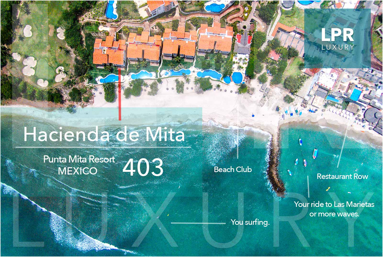 Hacienda de Mita 403 - Punta Mita Resort