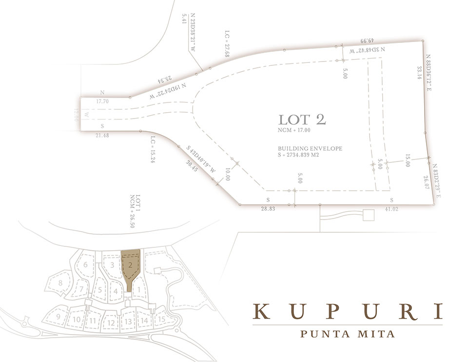 Kupuri - Lot 2 at the Punta Mita Resort, Mexico