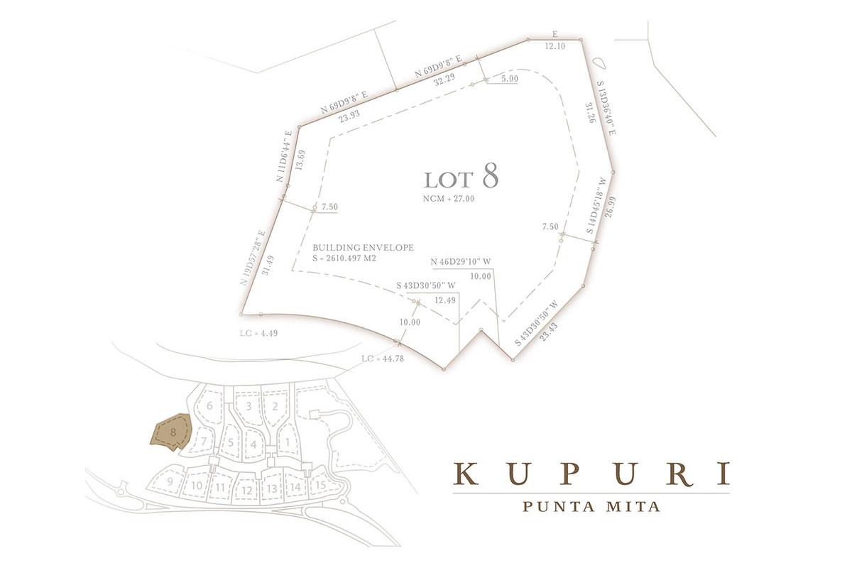 Kupuri - Lot 8 at the Punta Mita Resort, Mexico