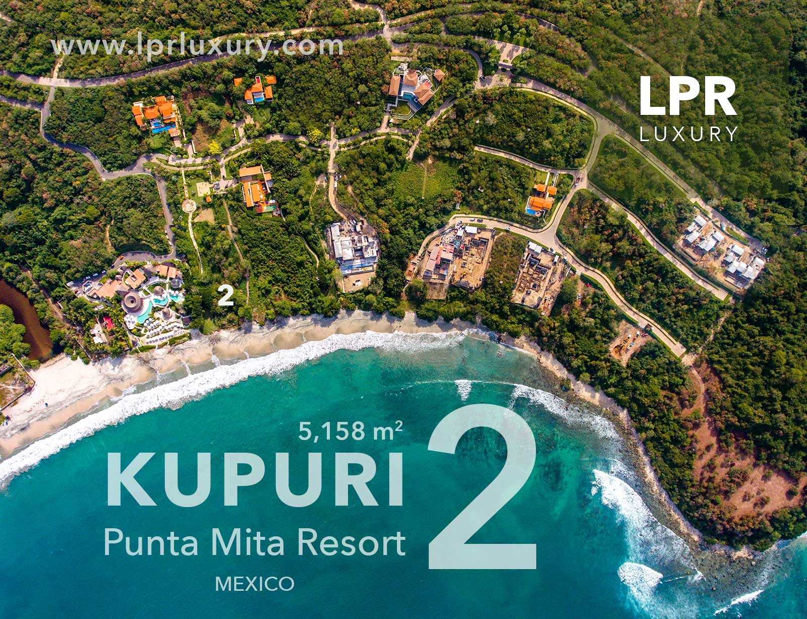 Kupuri Estate lot 2 - Punta Mita Resort, Riviera Nayarit, Mexico