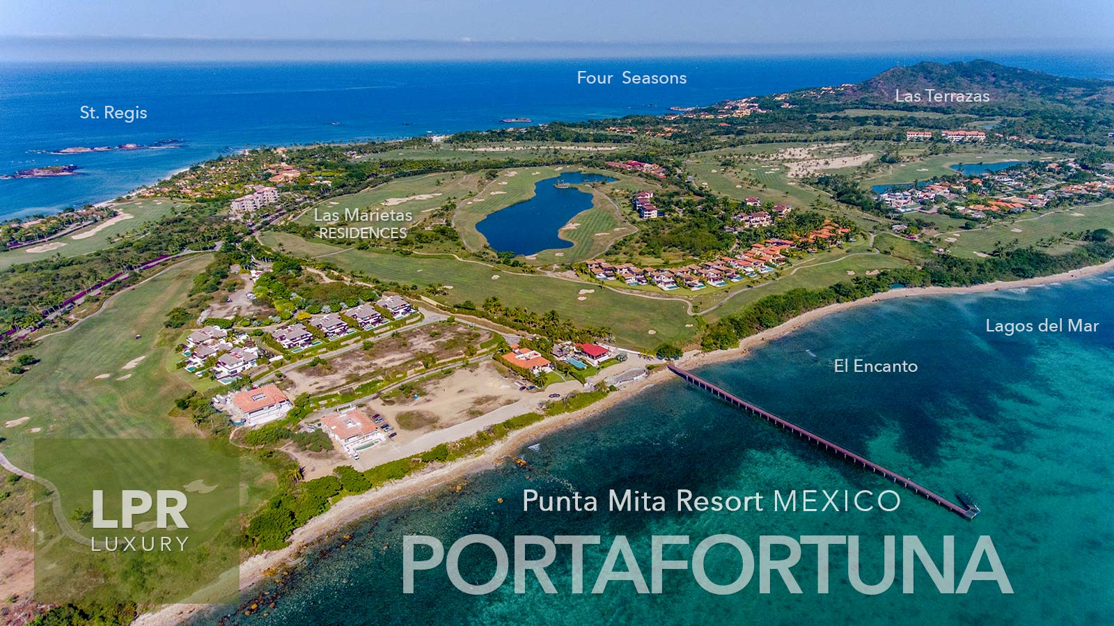 Porta Fortuna - Luxury Resort Real Estate at the Punta Mita Resort, Riviera Nayarit, Mexico