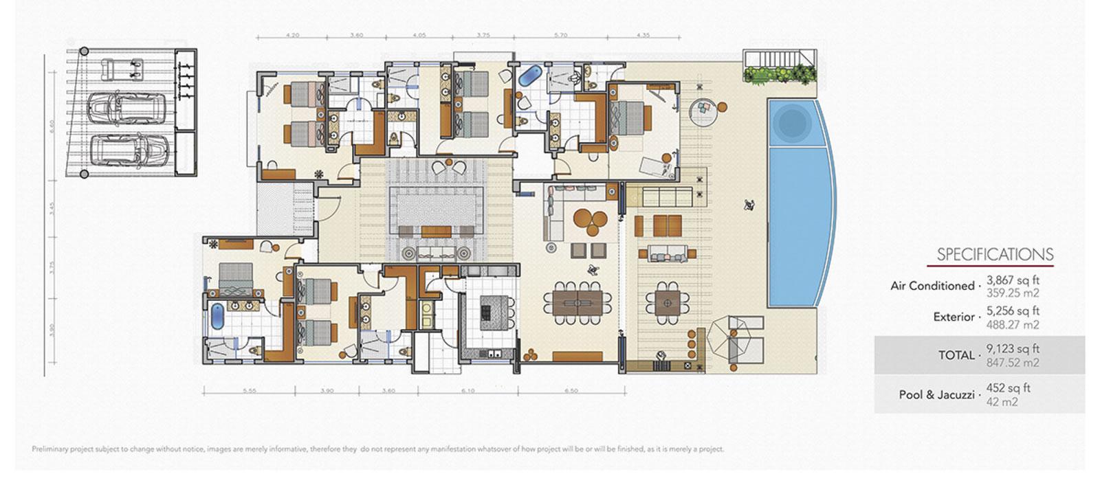 The Villas at Porta Fortuna - Punta Mita Resort Vacation Villa for Sale and Rent
