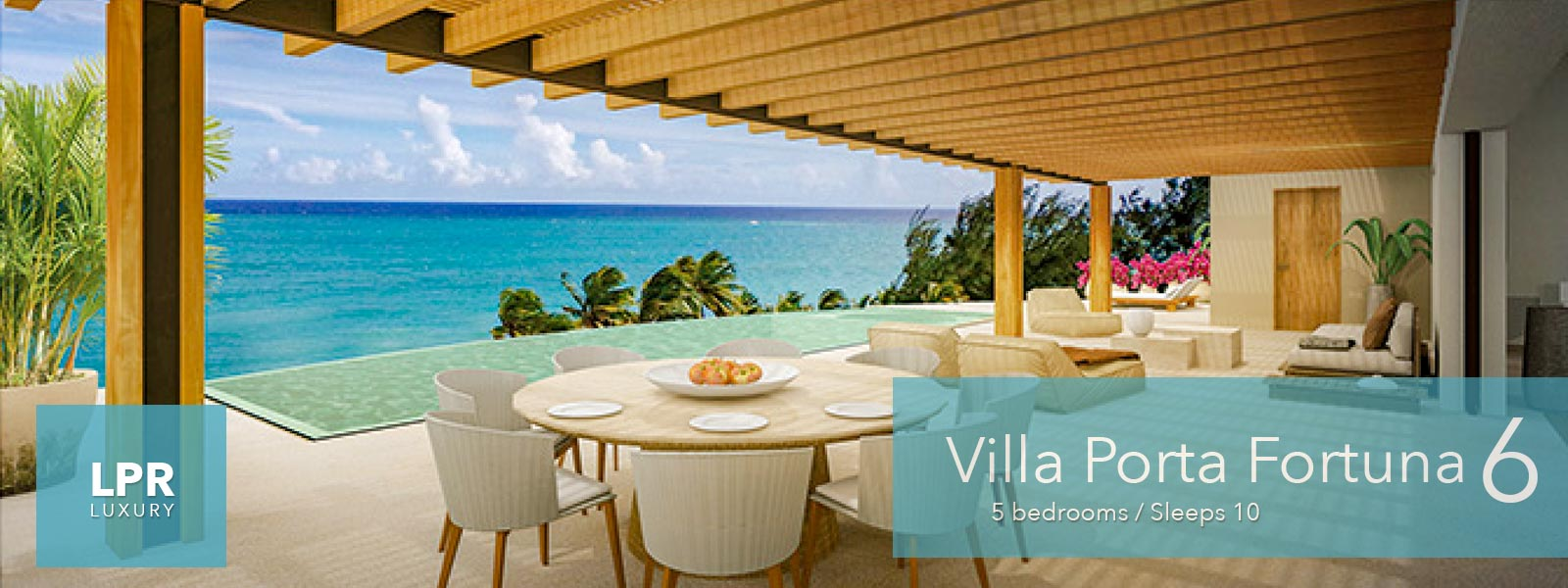 Villa Porta Fortuna 6 - Luxury oceanfront real estate for sale at the Punta Mita Resort, Riviera Nayarit, Mexico