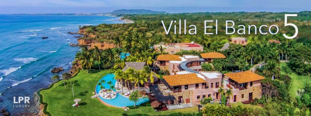Villa El Banco 5 - Ultra Luxury Vacation Rental Villain Punta de Mita, Mexico