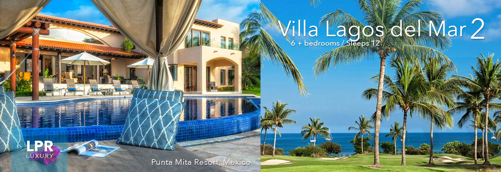 Villa Lagos del Mar 2 - Punta Mita Resort - Mexico Vacation Rentals Real Estate