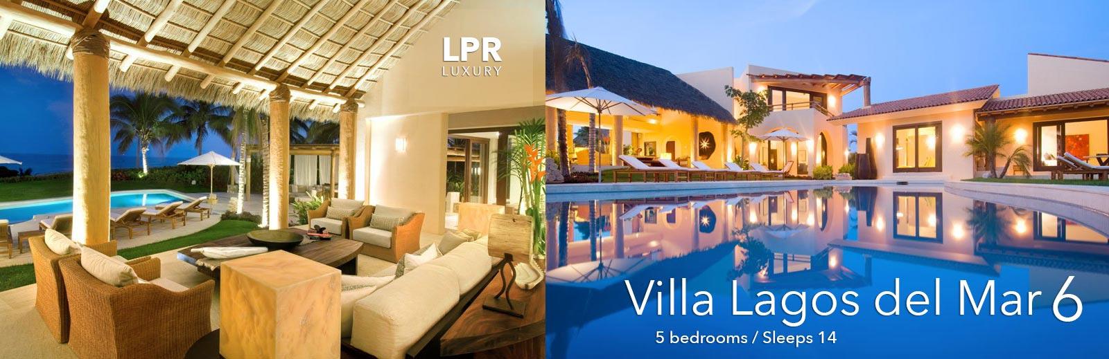 Villa Lagos del Mar 6 - Punta Mita Resort - Mexico Vacation Rentals
