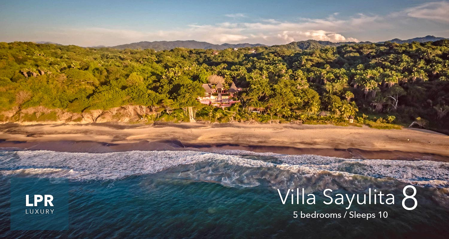 Villa Sayulita 8 - Luxury Beachfront Vacation Villa -n Sayulita, Riviera Nayarit, Mexico