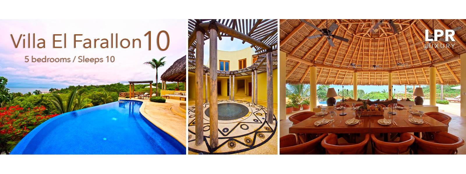 Villa El Farallon 10 - Luxury Punta de Mita Vacation Rental Villa - Mexico