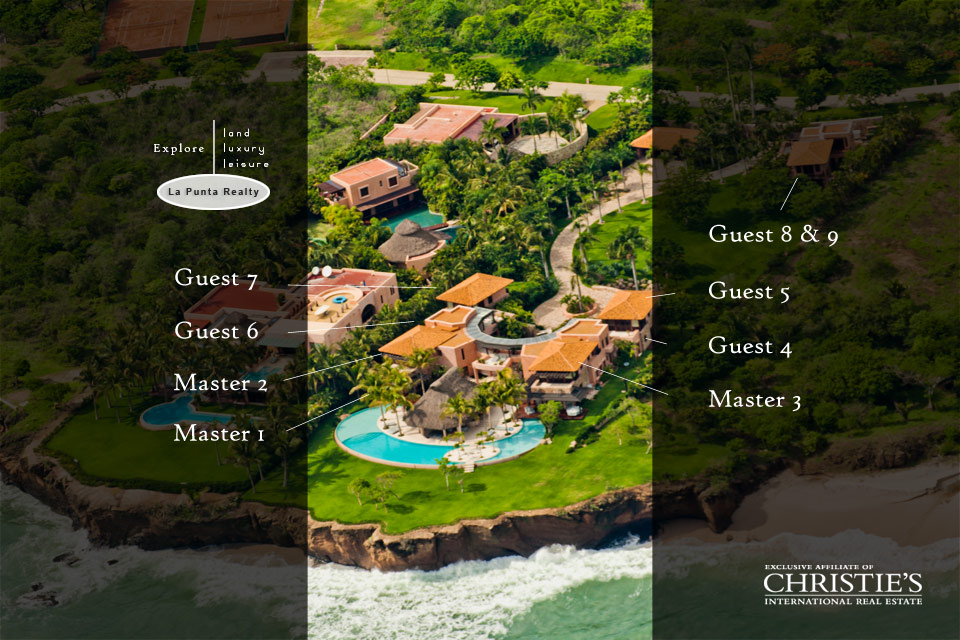 Villa El Banco 5 - Punta Mita Mexico Luxury Vacation Rentals Villas Real Estate