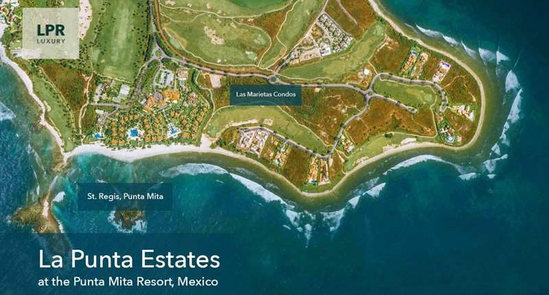 La Punta Estates at the Punta Mita Resort, Mexico - Lot Map