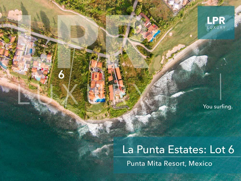 La Punta Estates - Lot 6 at the Punta Mita Resort - Puerto Vallarta Mexico
