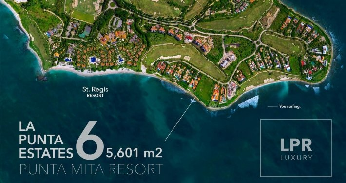 La Punta Estates - Lot 6 - Punta Mita Four Seasons / St. Regis Resort - Mexico