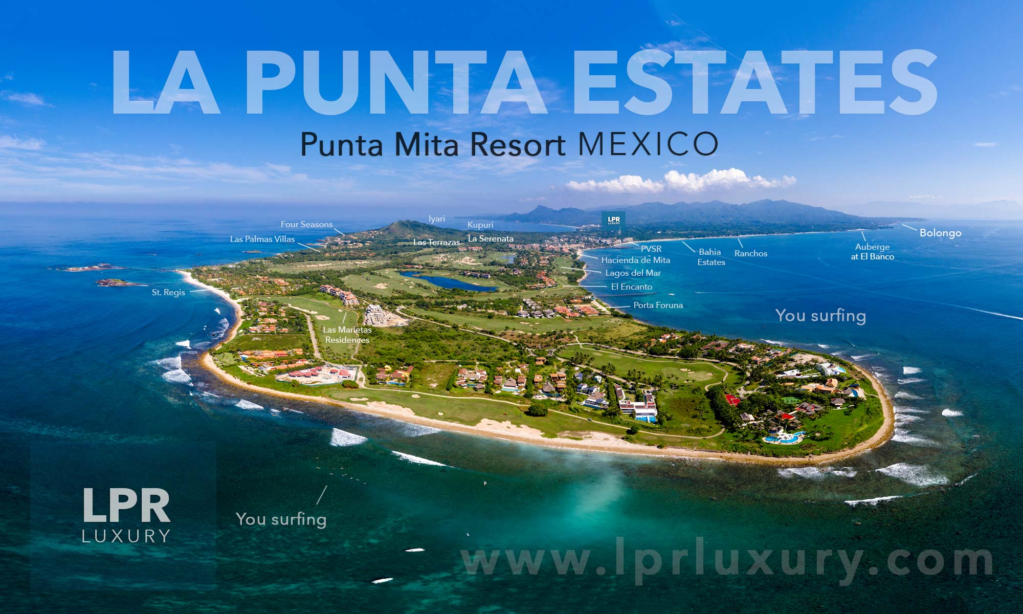 La Punta Estates - Luxury Casas and Villas at the Punta Mita Resort, Riviera Nayarit, Mexico