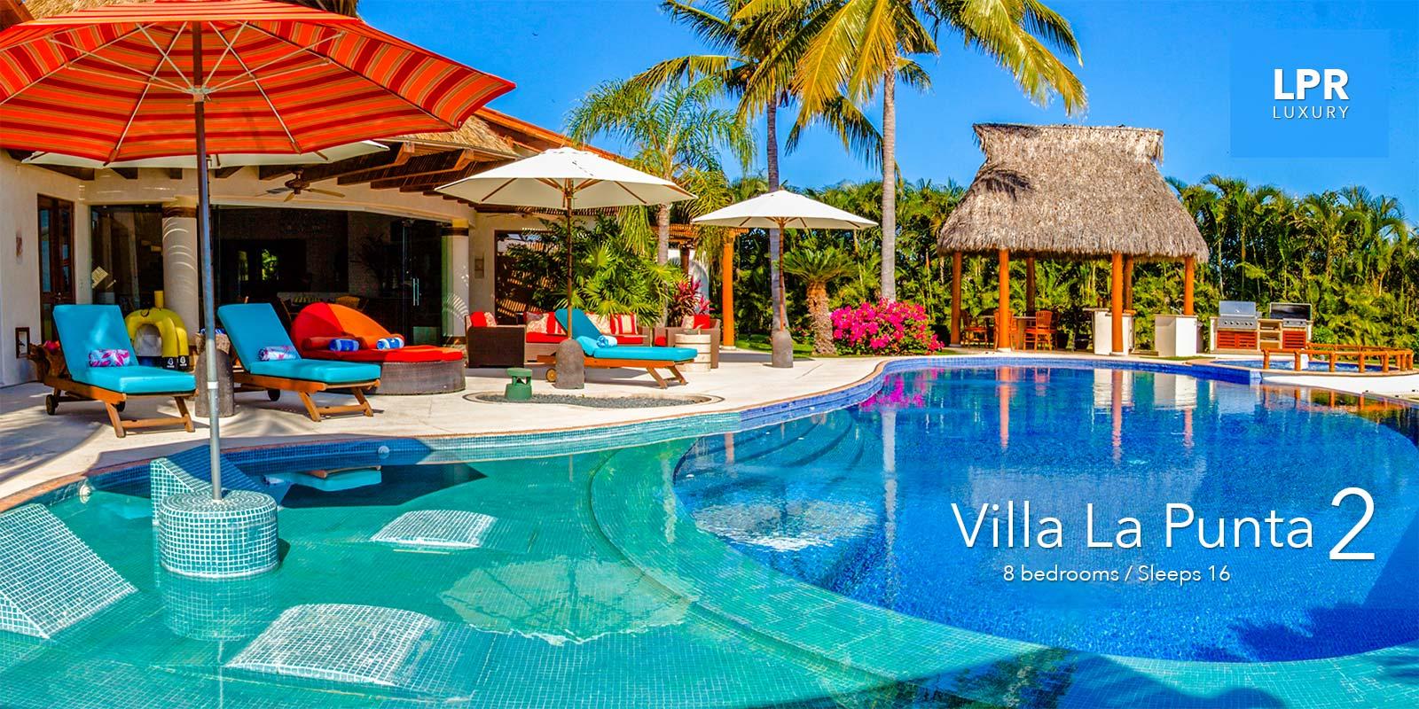 Villa La Punta 2 - Luxury Punta Mita Resort Real Estate for Sale - North of Puerto Vallarta, Mexico