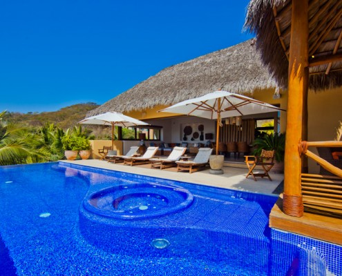 Villa Real del Mar 1 - Luxury vacation rental villa for sale in Punta de Mita.