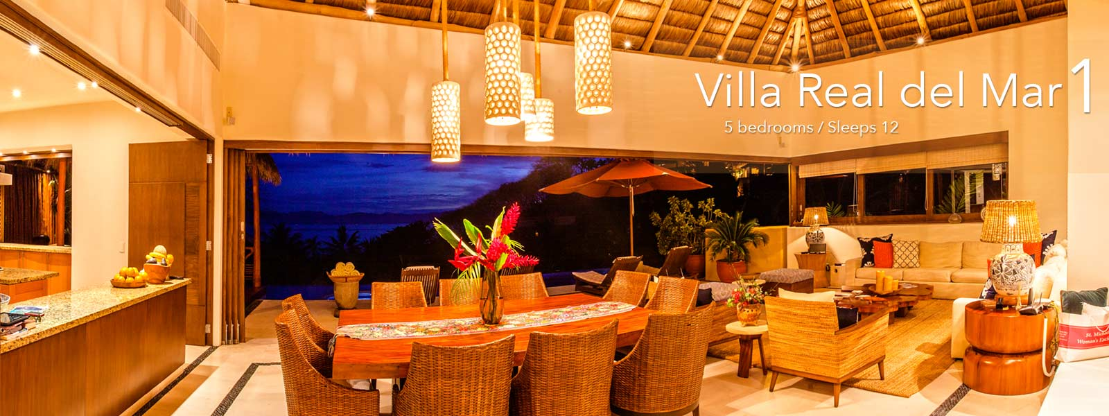 Villa Real del Mar 1 - Luxury Punta de Mita Real Estate and Vacation Rentals