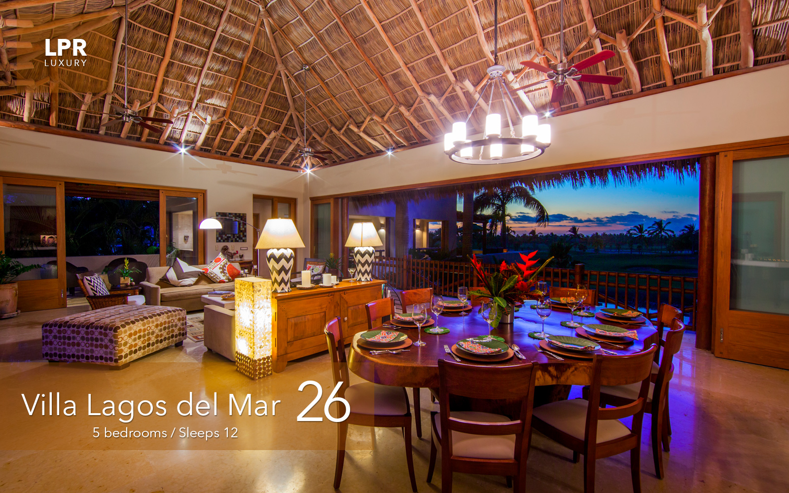 Villa Lagos del Mar 26 - Luxury vacation rental villa at the Punta Mita Resort - Luxury real estate for sale