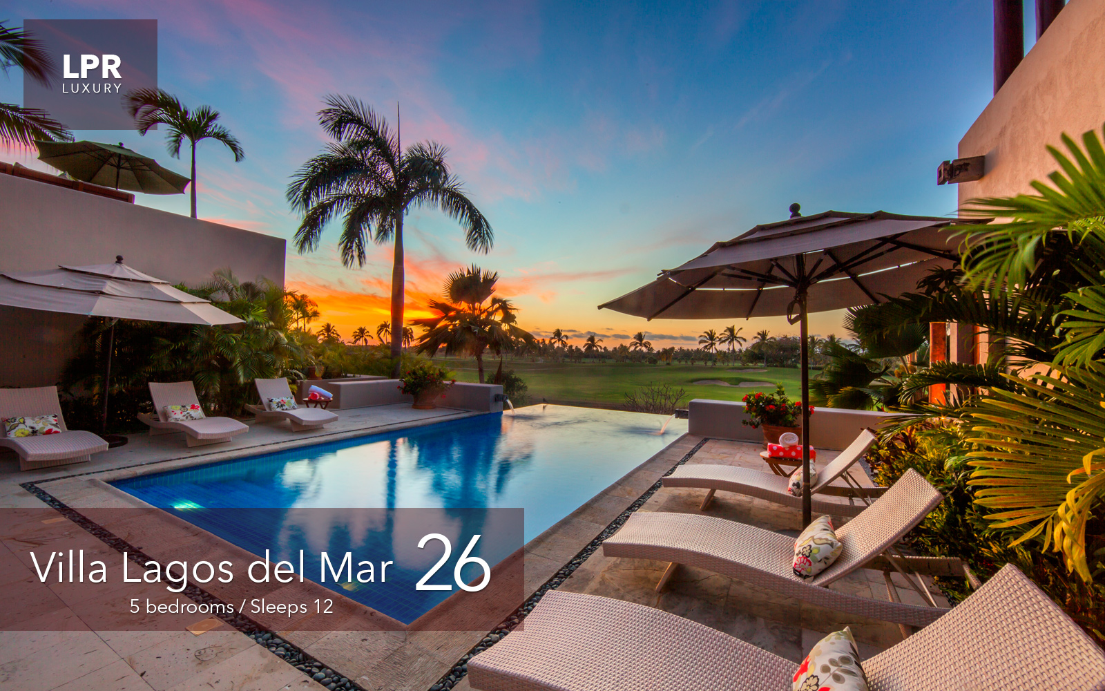 Villa Lagos del Mar 26 - Luxury vacation rental villa at the Punta Mita Resort - Luxury real estate for sale