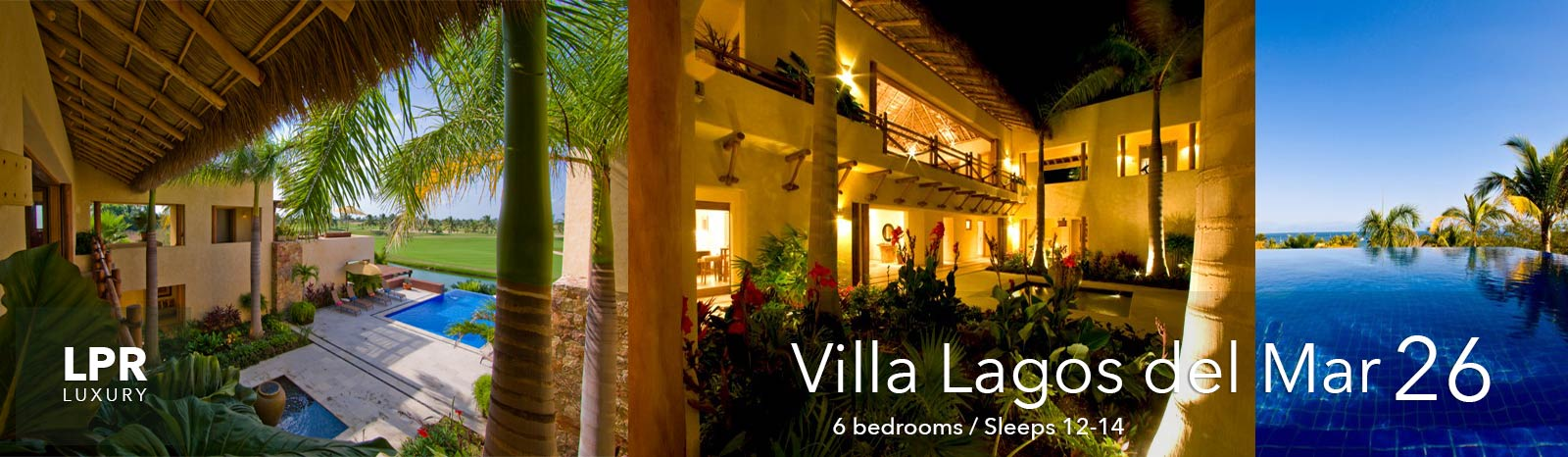 Villa Lagos del Mar 26 - Punta Mita Resort - Mexico Luxury Vacation Rentals and Resort Real Estate