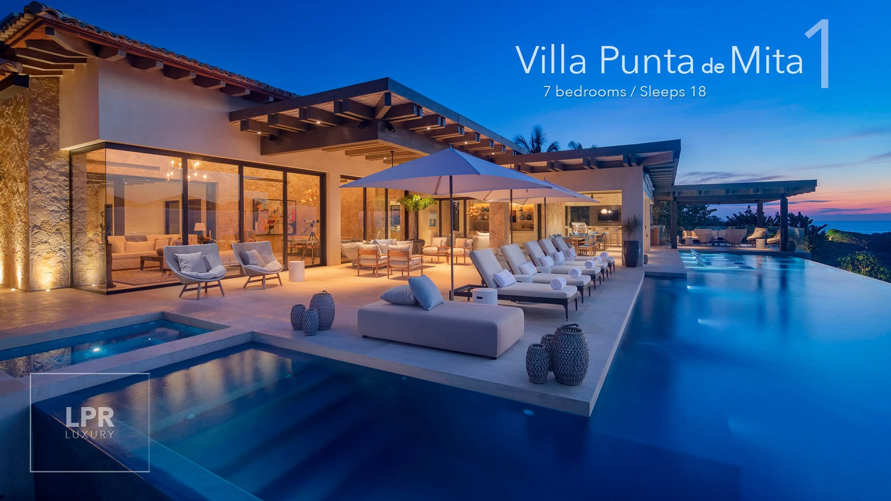 Villa Punta de Mita 1 - Ultra luxury vaction rental villa at the Punta Mita Resort, Mexico