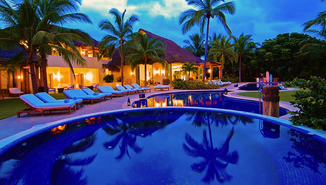 Vacation Famous like Joe Francis - Casa Aramara - Ultra Luxury Punta Mita Mexico