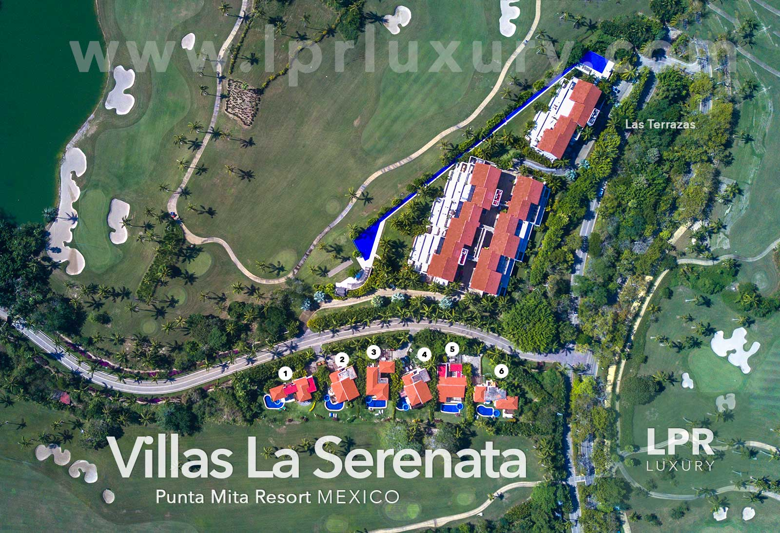 Villas La Serenata at the exclusive Punta Mita Resort, Riviera Nayarit, Mexico