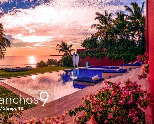 Villa Ranchos 9 - Luxury Punta Mita Rentals at the Punta Mita Mexico Resort