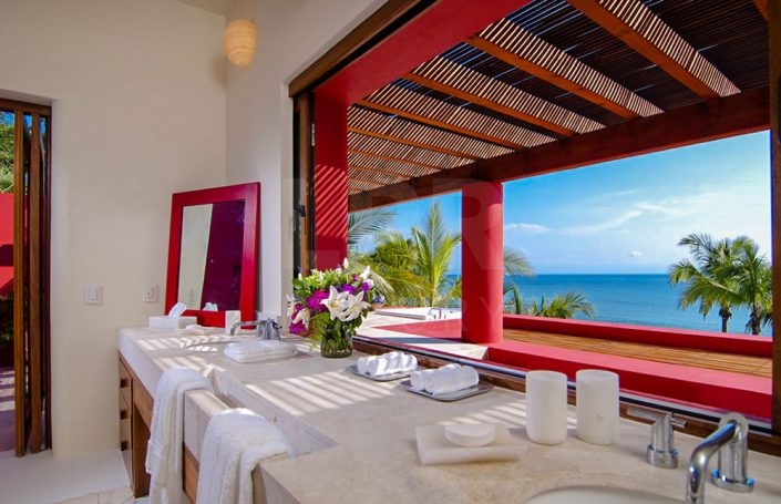 Villa Ranchos 9 - Luxury beachfront vacation rental villa for sale - Luxury real estate in Punta Mita