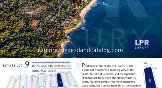 El Banco Estates - Lot 9 - Punta de Mita Real Estate - Mexico