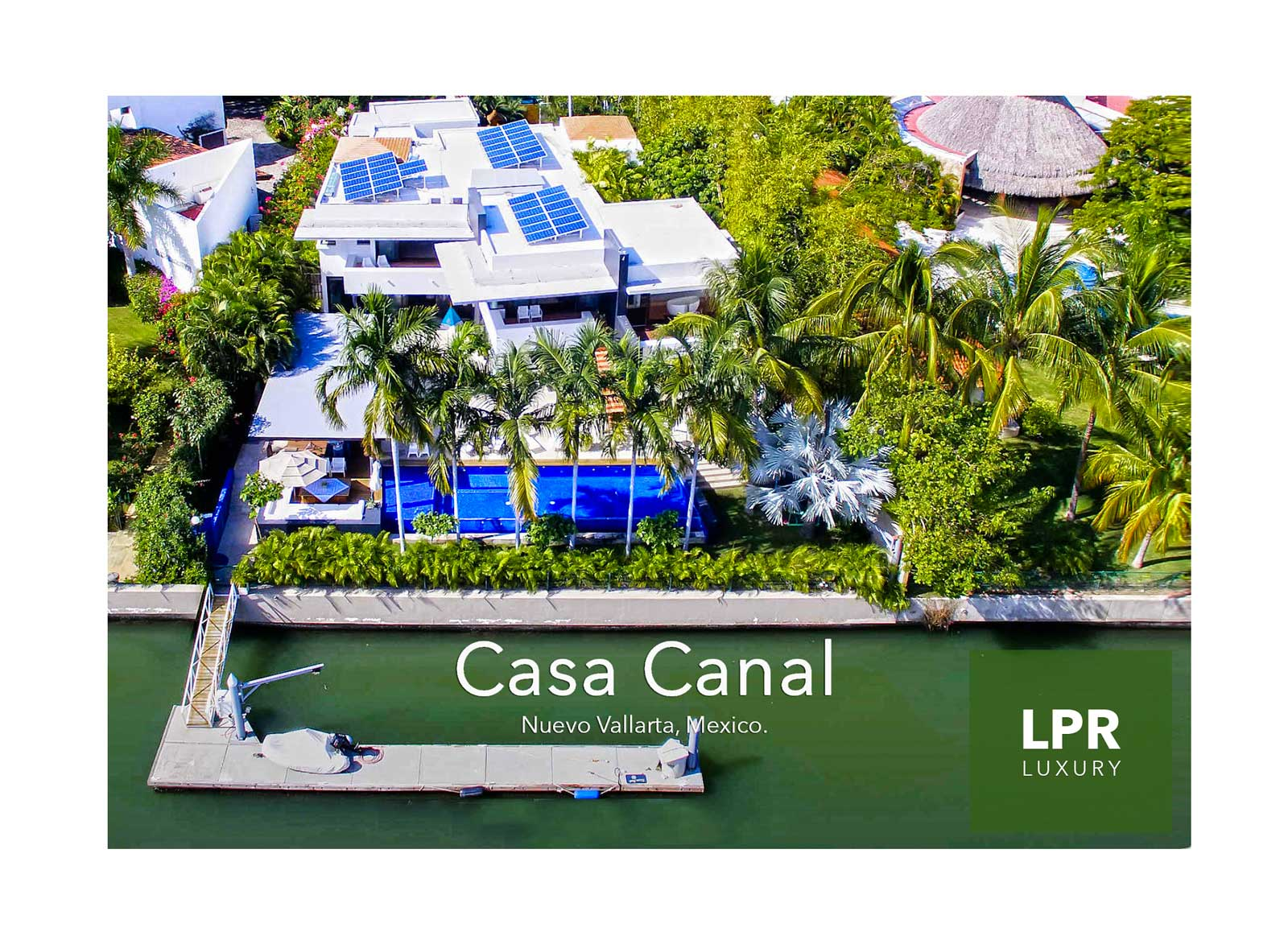 Casa Canal - Nuevo Vallarta - Riviera Nayarit, Mexico - Puerto Vallarta Luxury Real Estate