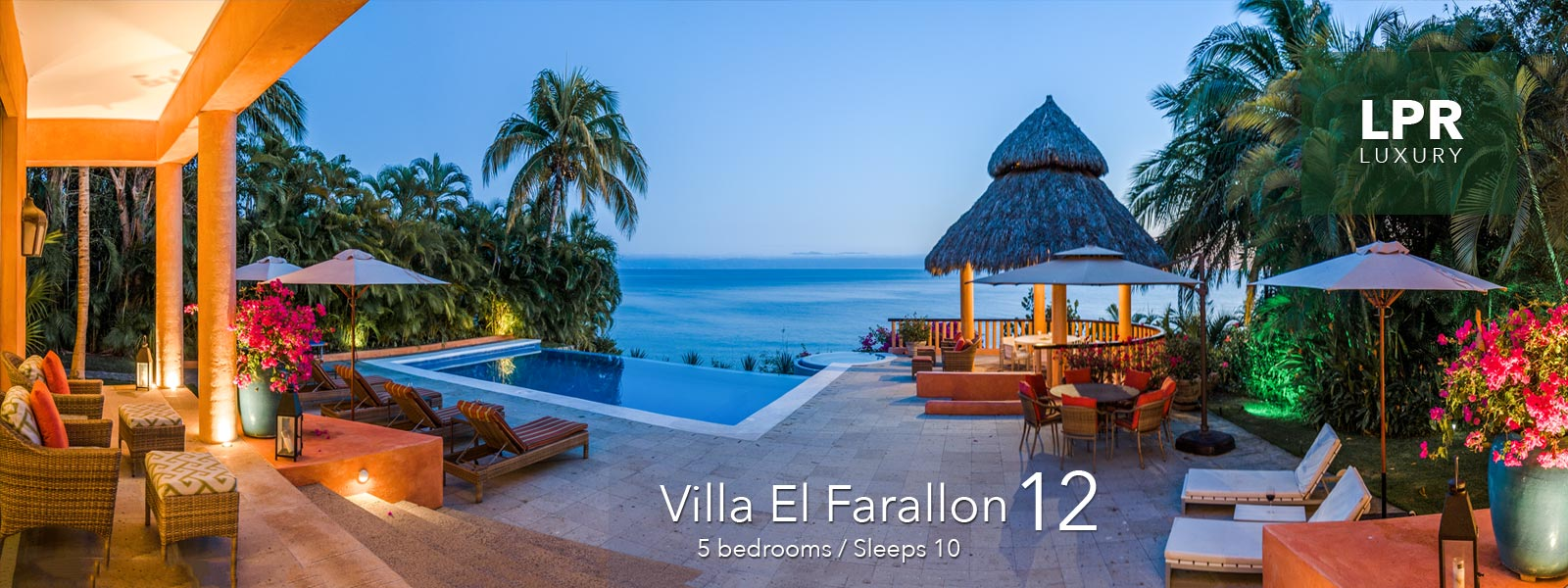 Villa El Farallon 12 - Luxury beachfront vacation rental villa in Punta de Mita, Riviera Nayarit, Mexico - Puerto Vallarta Real Estate