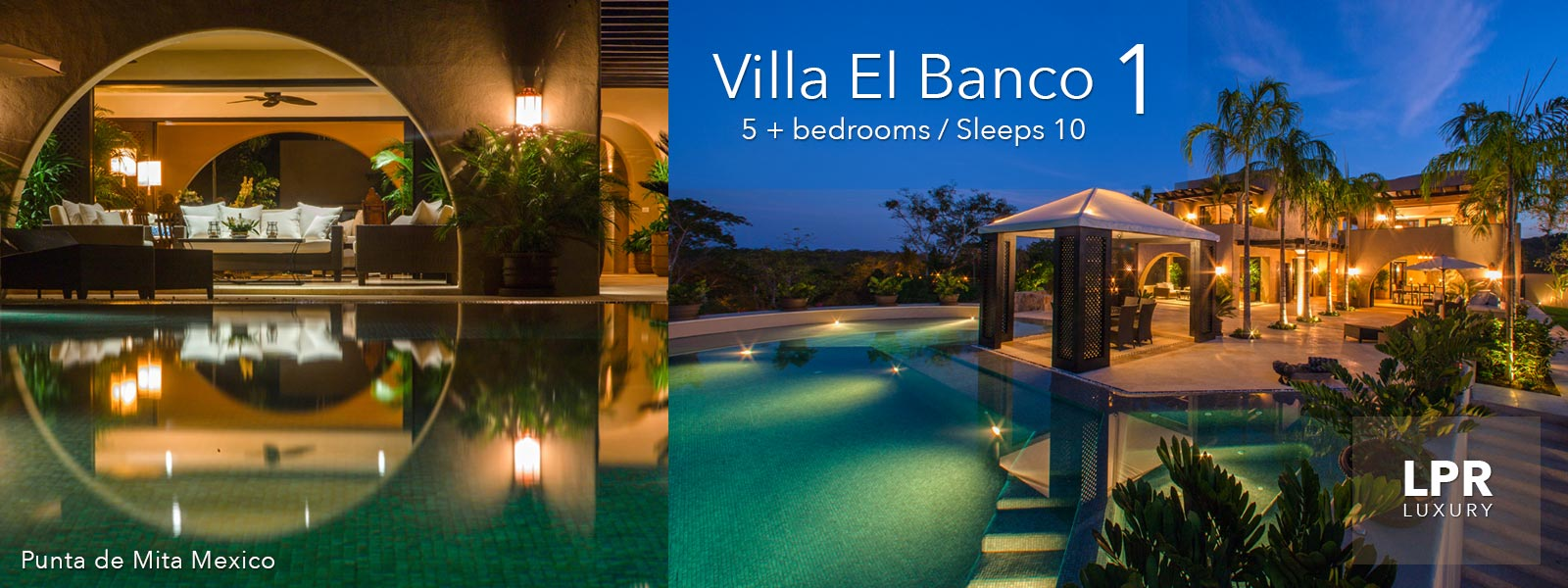 Villa El Banco 1 - Luxury Puerto Vallarta Vacation Rentals Villas