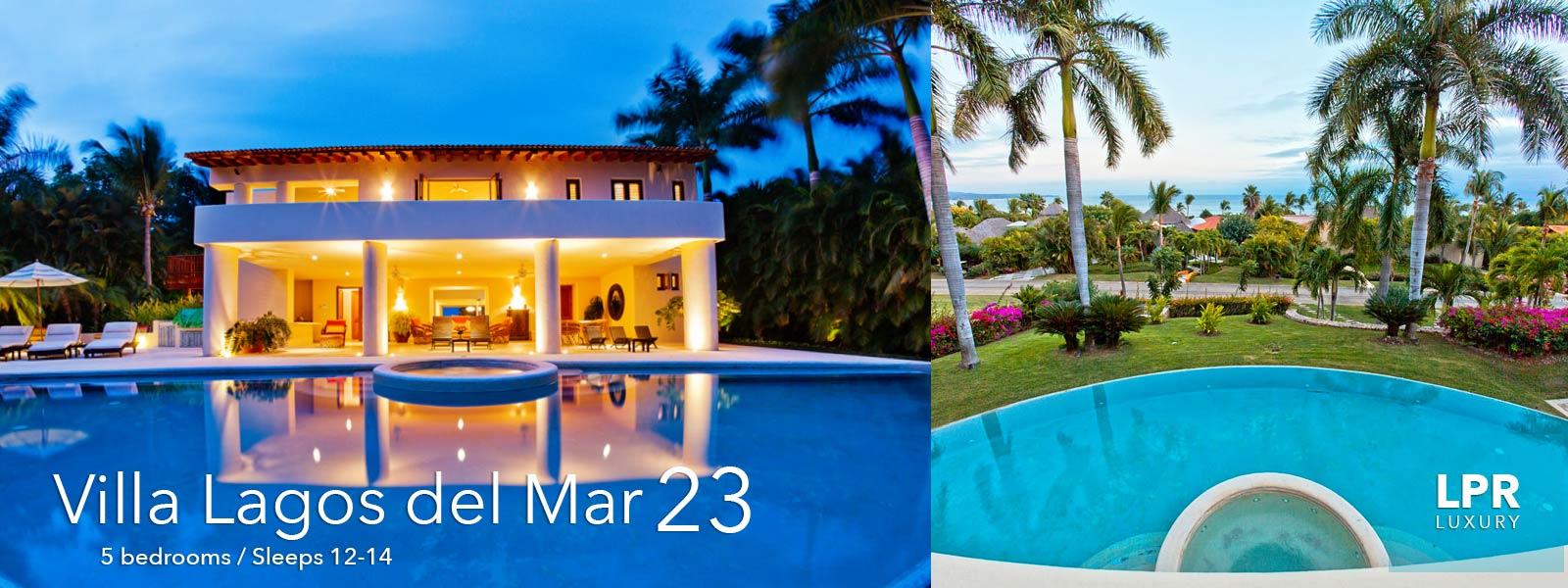 Villa Lagos del Mar 23 - Punta Mita Resort - Mexico Vacation Rentals